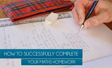 how to complete maths homework